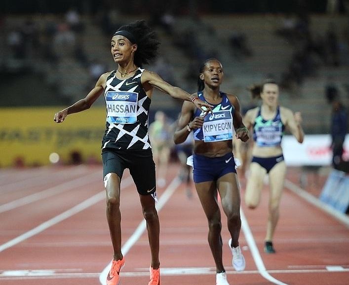 Sifan Hassan a caccia del record mondiale dei 5000 metri a Eugene questo fine settimana