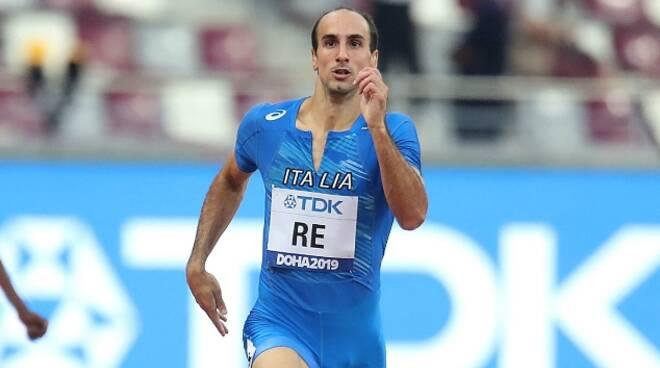 """Olimpiadi Tokyo Atletica: Davide Re beffato dal fotofinish nei 400 piani, con 44""""94 fuori dalla finale"""