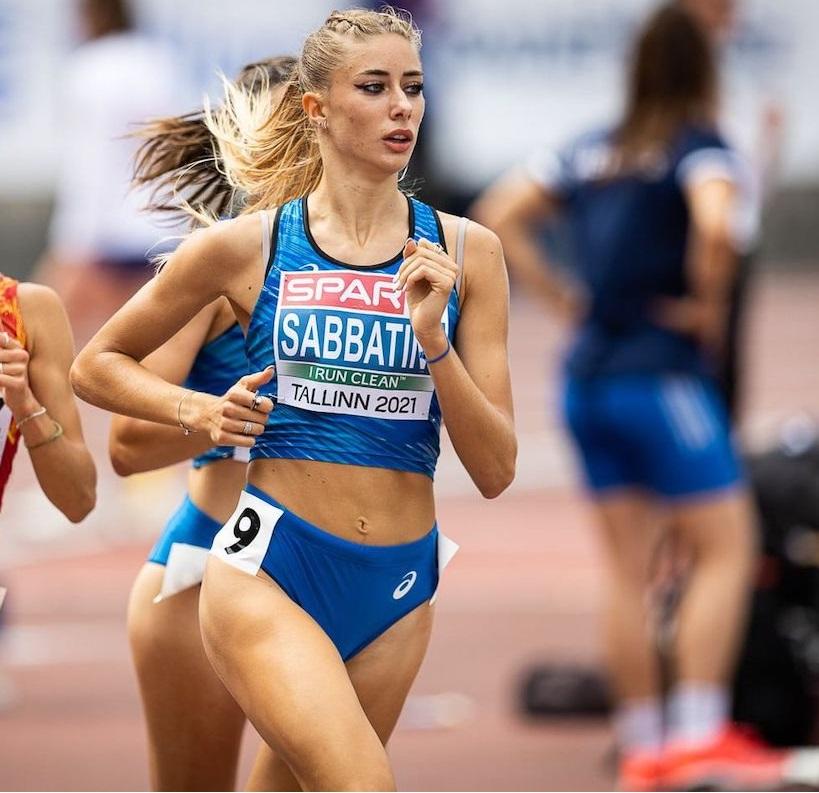 Gaia Sabbatini consistente nei 1500 metri di Eugene-Diamond League