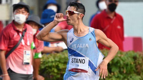 Olimpiadi Tokyo Atletica: MASSIMO STANO ORO nella Marcia 20 km.