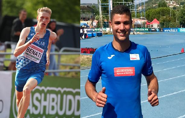 Mondiali U20 Nairobi: Lorenzo Benati (400 metri) e Davide Costa (martello) conquistano la finale