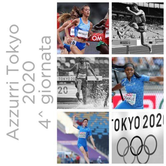 Olimpiadi Tokyo Atletica 4^ giornata: ecco gli azzurri in gara