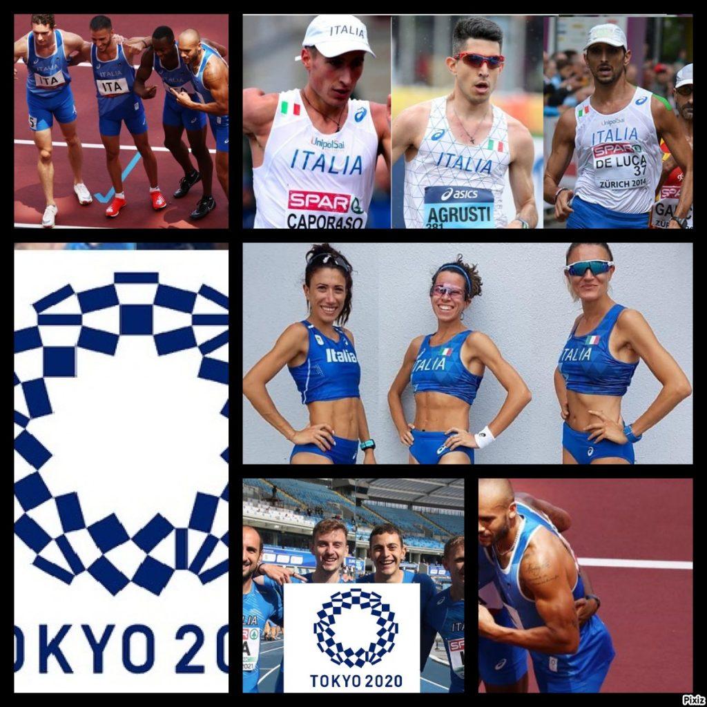 Olimpiadi Tokyo Atletica 8^ giornata: c'è la marcia e la finale staffetta 4x100