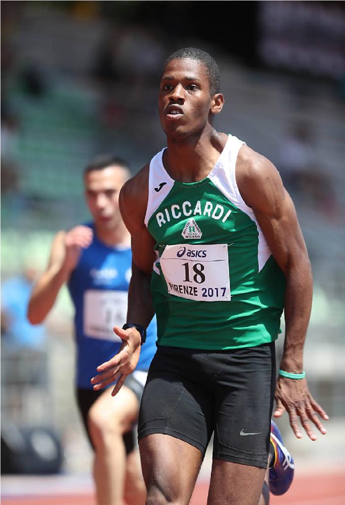 """Wanderson Polanco corre i 100 metri in 10""""27 ma con troppo vento"""