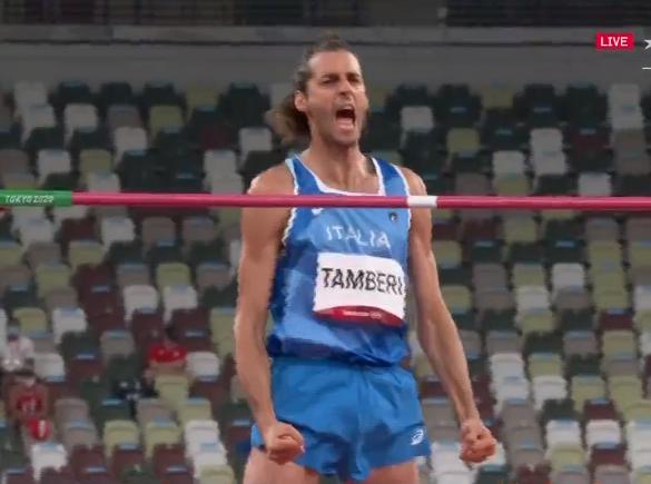 Olimpiadi Tokyo Atletica: GIANMARCO TAMBERI E D'ORO!!