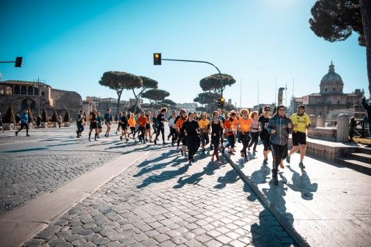 Acea Run Rome The Marathon: tutte le 'esperienze' possibili per vivere Roma da runner-turista