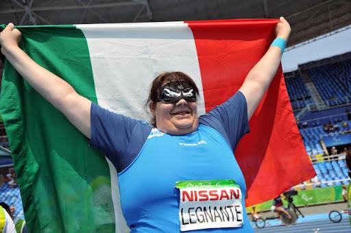 Paralimpiadi Tokyo Atletica: Assunta Legnante é  d'argento nel lancio del disco col primato europeo
