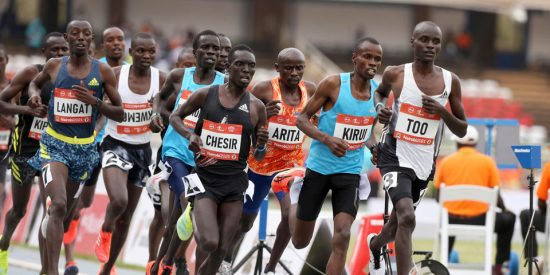 10000M Athletes participate during Kipkrino classics at Moi International sports centre Kasarani on September 18,2021.PHOTO SILA KIPLAGAT