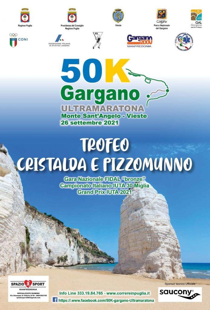 Il 26 settembre 2021 avrà luogo la I^ 50 Km Ultramaratona del Gargano- di Matteo Simone