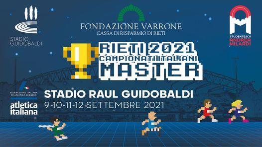 Master: da oggi fino a domenica i campionati italiani a Rieti- LA DIRETTA STREAMING