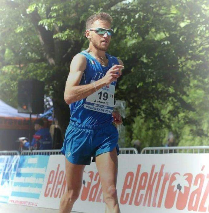 Michele Antonelli in Francia si prende il secondo posto nella 20 km del Challenge Facoetti-Fahm a Montreuil