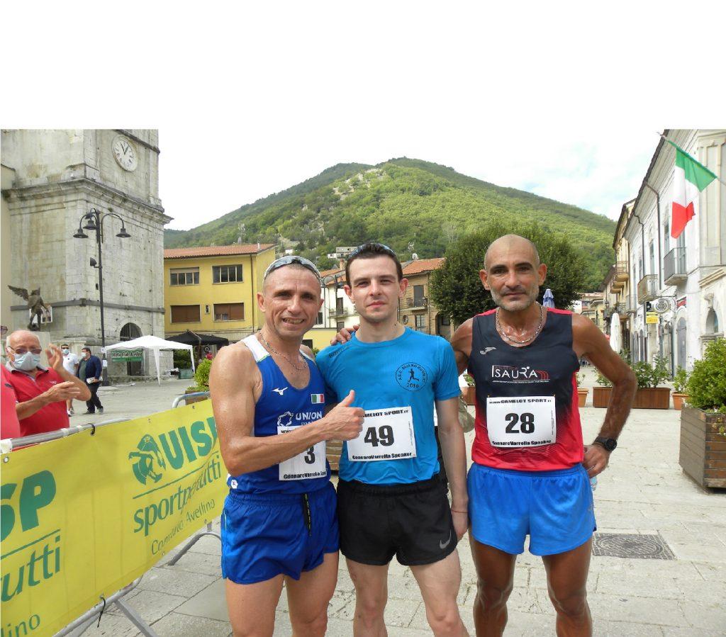 """Marco Vetrano si aggiudica i 15Km.  """"Maratona della Valle del Dragone"""" - Tra le donne c'è la vittoria di Ela Stabile"""