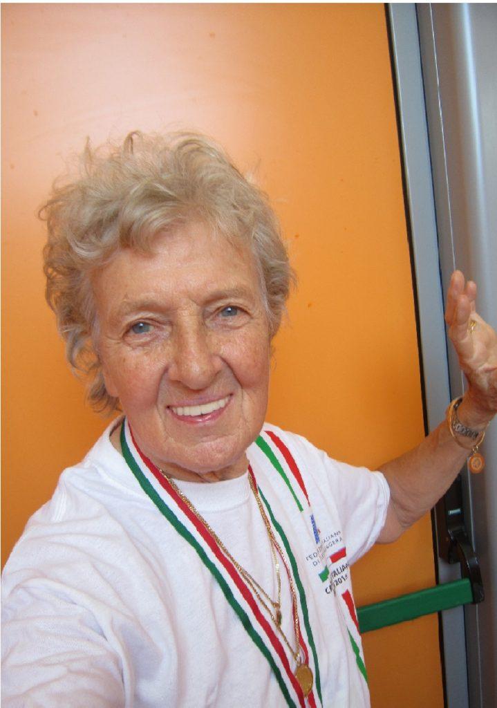 (Ancora) ori e primato italiano per la 91enne Nives Fozzer