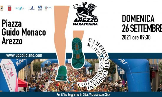 Domani 26 settembre alla Mezza di Arezzo si assegnano anche i titoli italiani Master