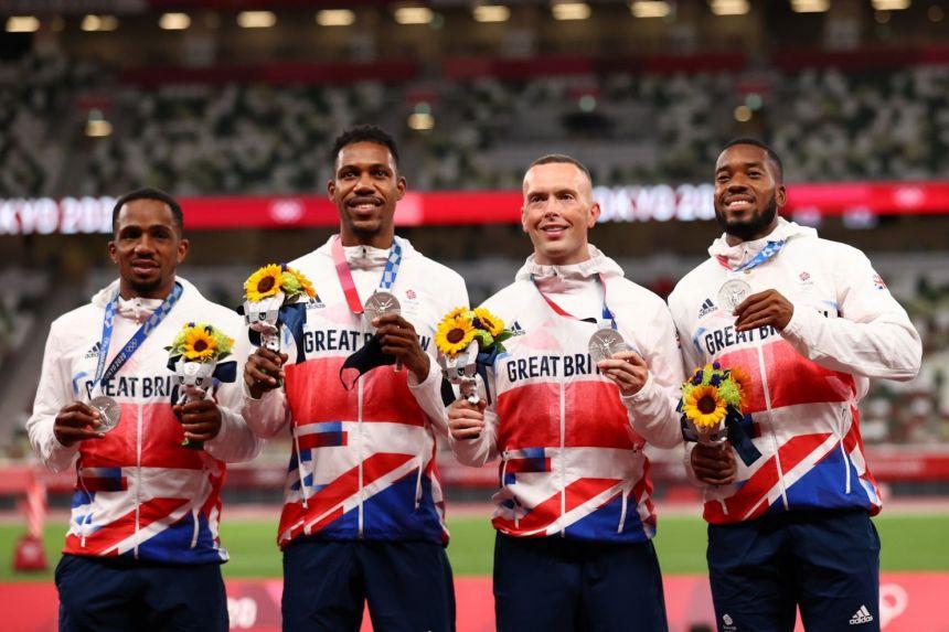 Doping: positivo anche il campione B di Ujah, a rischio l'argento della staffetta 4x100 britannica di Tokyo
