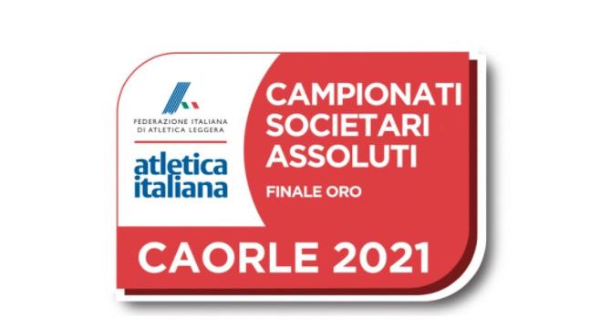Campionati italiani di Società Assoluti: LA DIRETTA STREAMING della Finale ORO di Caorle