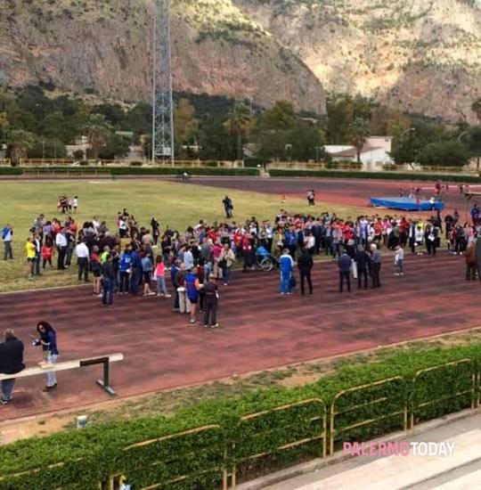 Accesa polemica durante i campionati disabili (Fisdir) di atletica a Palermo per l'accesso negato ai parenti degli atleti