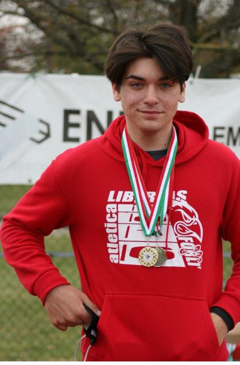 CAMPIONATI REGIONALI CADETTI PARMA 18-19 SETTEMBRE: sul podio  3 atleti della Libertas Atletica Forlì