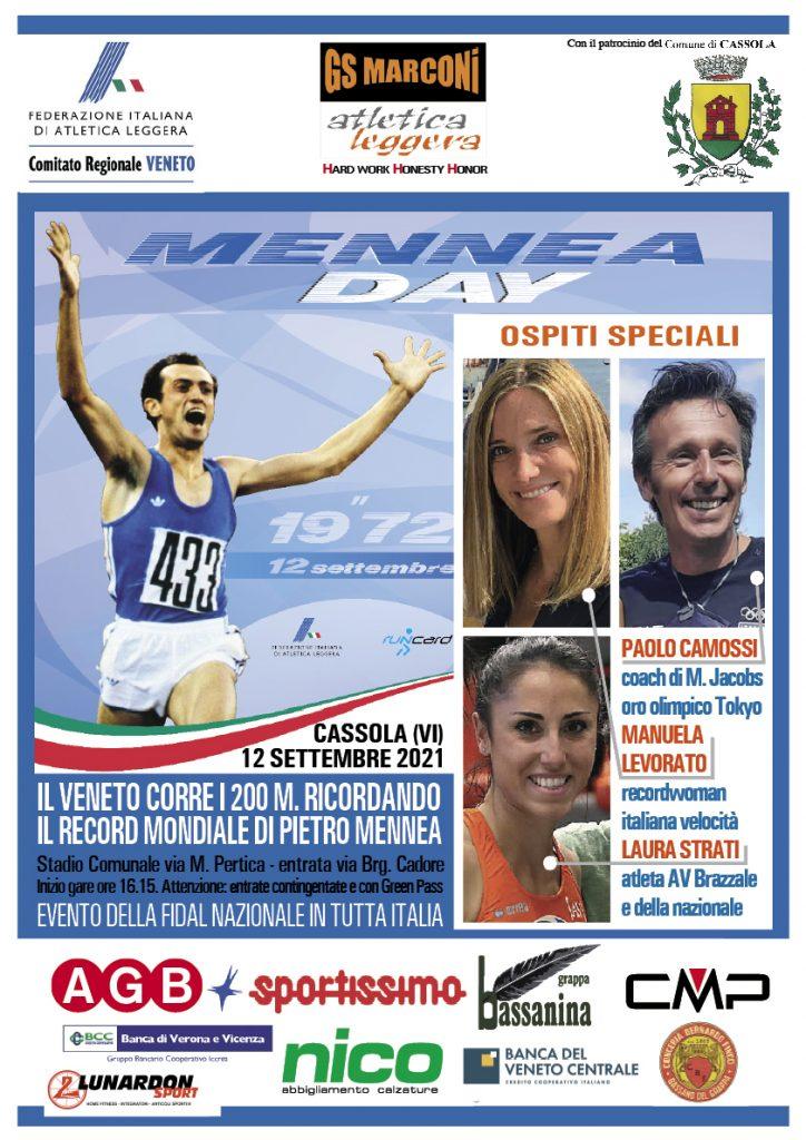 Camossi, Levorato, Strati e Gobbi ospiti speciali alla due giorni di Cassola con Serenissima meeting e Mennea day