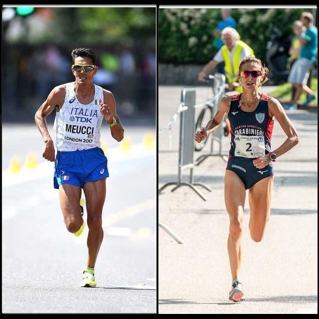 Daniele Meucci e Giovanna Epis sono i top-runner  azzurri della Padova Half Marathon
