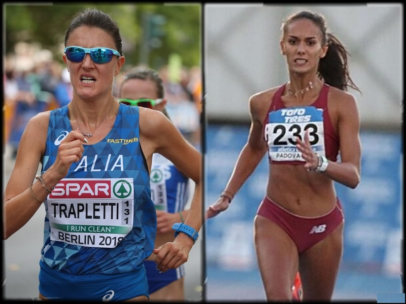 QUESTE LE ATLETE ITALIANE NELLA TOP 100 EUROPEA 2021- di Giuseppe Baguzzi