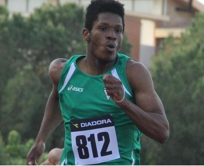 Wanderson Polanco 10.21, e il lunghista Randazzo 10.23, sfrecciano  nei 100 metri del We Run Together a Castelporziano (Roma)