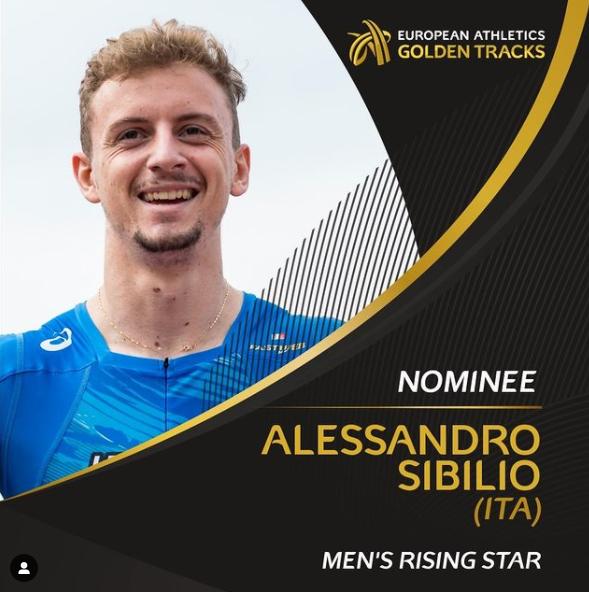 Alessandro Sibilio candidato tra le stelle nascenti d'Europa