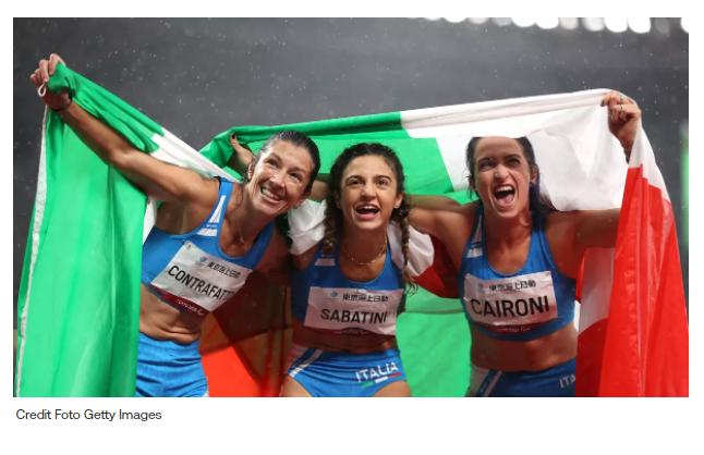 Paralimpiadi Tokyo Atletica: storico oro di Ambra Sabatini nei 100 metri davanti a Martina Caironi e Monica Contrafatto