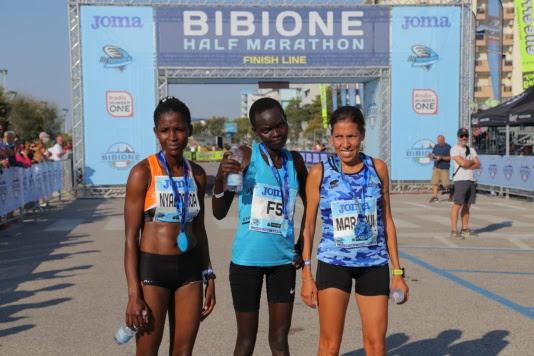 Bibione Half Marathon: Kipkorir Birir vince e fa il record percorso, terza l'azzurra Fatna Maraoui