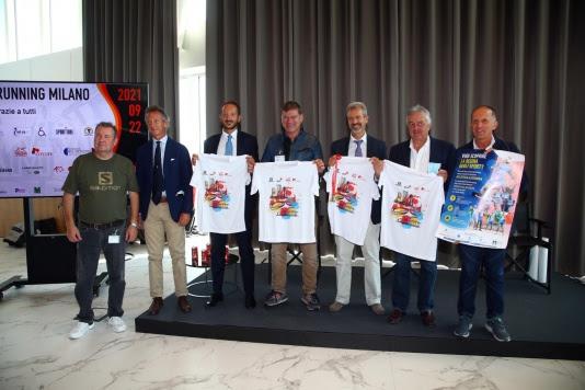 Presentata la Salomon Running Milano, si corre il 26 settembre con lo stesso format ma tante novità