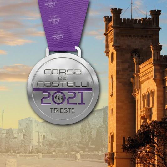E' argento e viola la medaglia della 5^ Corsa dei Castelli di Trieste