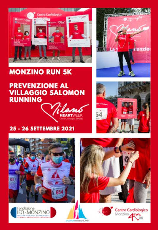 Domenica alla Salomon Running Milano, c'è la Monzino Run 5 km