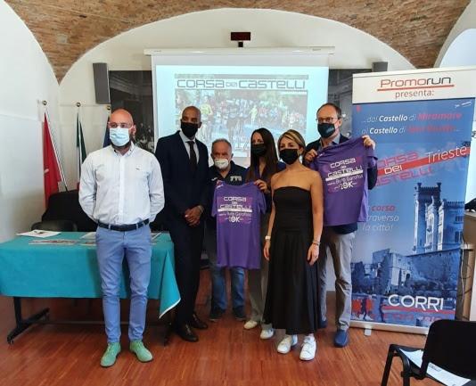 """Presentata """"La Corsa dei Castelli"""", il 17 ottobre a Trieste si corre da Miramare a San Giusto"""