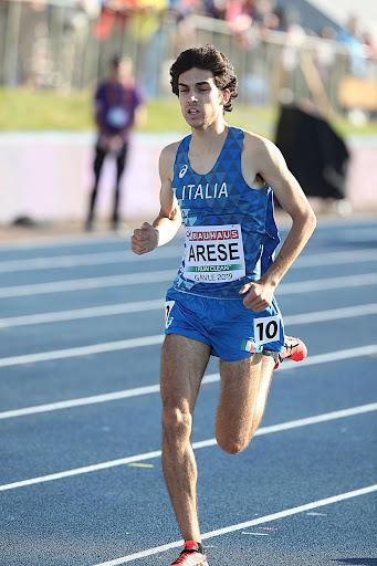 Gran personale di Pietro Arese nei 1500 metri a Bellinzona