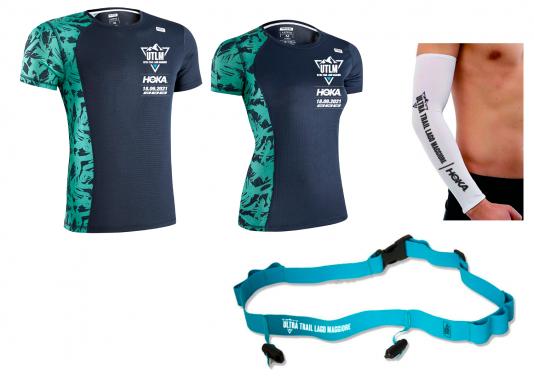 Sabato 18 settembre il I° HOKA Ultra Trail Lago Maggiore 2021, svelate T-Shirt e medaglia