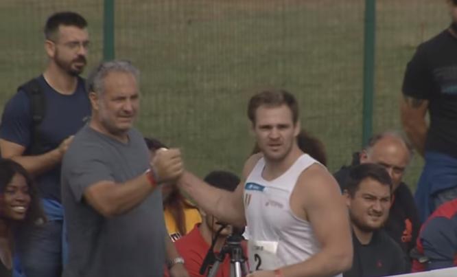 Cds Finale ORO: lontanissimo il peso di Weir, 21,66 e record personale- IL VIDEO