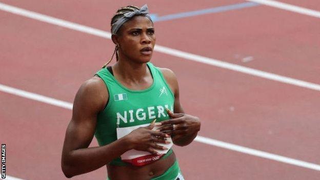 Doping: accusata di tre reati antidoping la velocista nigeriana Blessing Okagbare