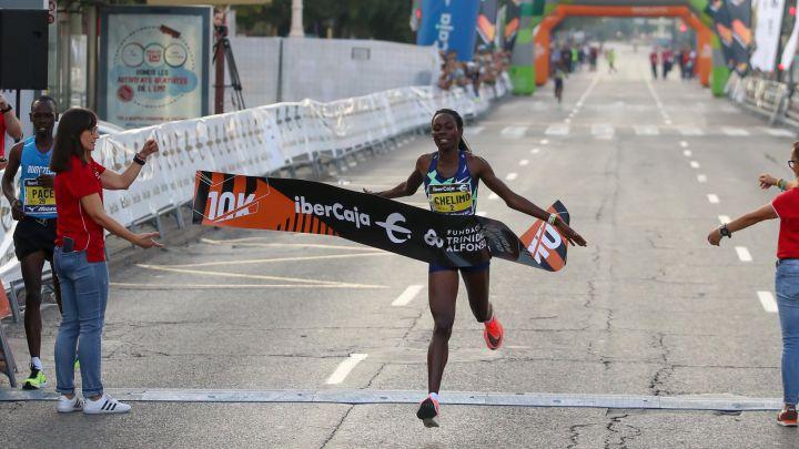 Margaret Chelimo realizza il terzo miglior tempo mondiale di sempre nei 10Km. a Valencia