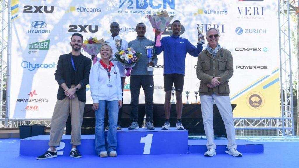 Haftu Teklu vince la mezza di Barcellona con il record di 59:39