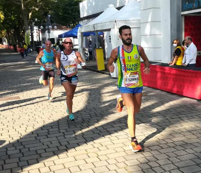 "6ª ""Telesia Half Marathon""- Vincono Mkungo e Mukadanga"