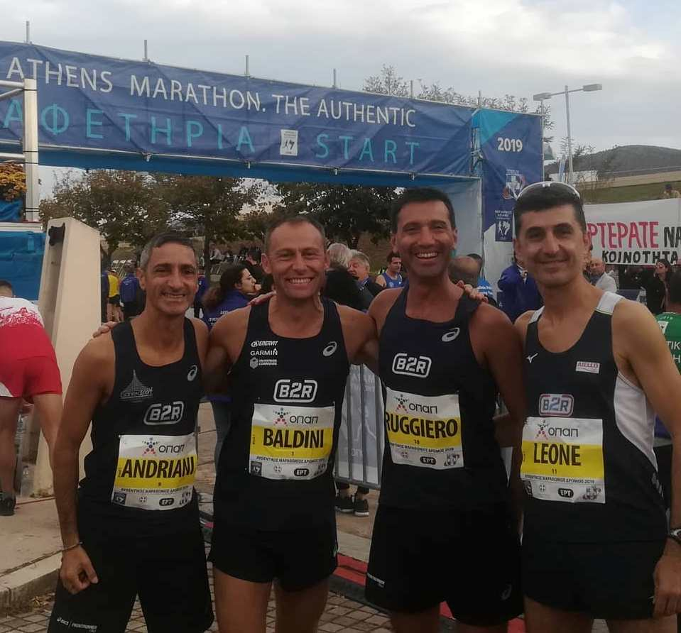 Giovanni Ruggiero, atleta completo e maratoneta