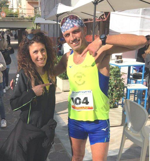 Marcia su strada 10km.: il marciatore casertano Magliulo chiude il 2021 con il Titolo Italiano. A Grottammare madrina dell'evento la campionessa olimpica Antonella Palmisano