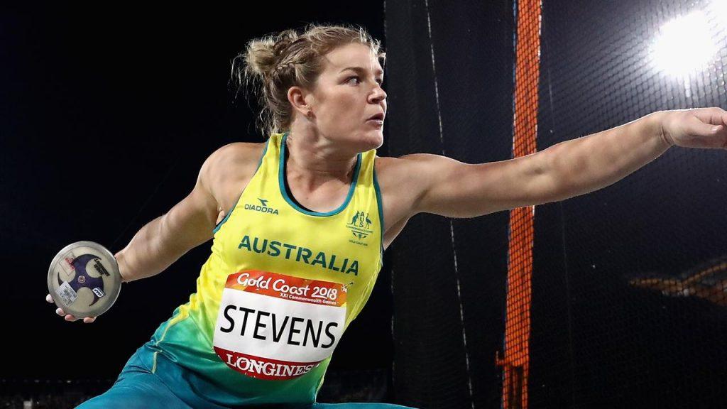 Si ritira la discobola Stevens, è stata la più giovane campionessa mondiale di lancio del  disco