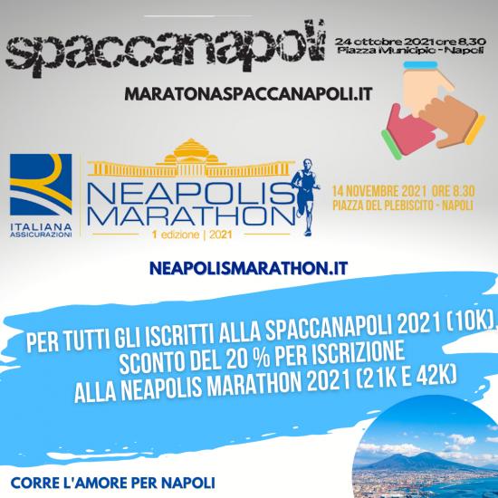 SPACCANAPOLI 2021, LA UISP NAPOLI RIPORTA LE GARE PODISTICHE NELLA CITTÀ DI PARTENOPE