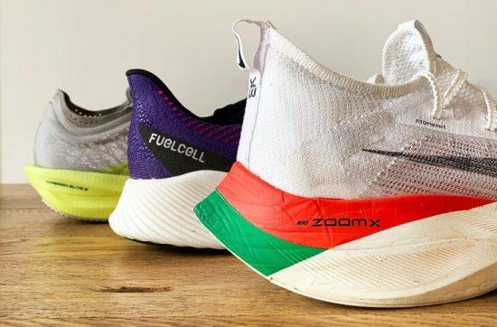 Le scarpe più spesse sono sempre le più veloci?
