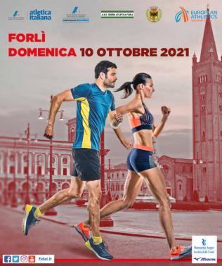 Campionati italiani assoluti, juniores, promesse e allievi di corsa su strada,  Domenica 10 ottobre a Forli