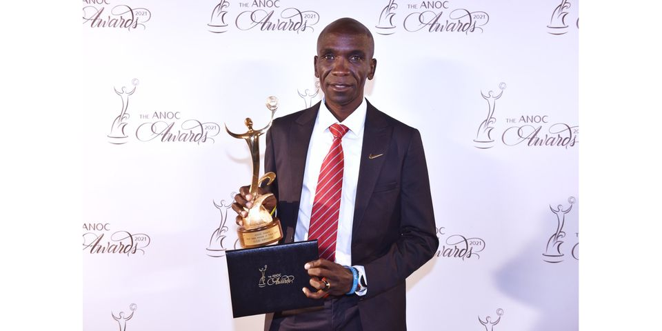 Eliud Kipchoge eletto Miglior Atleta Maschile delle Olimpiadi di Tokyo 2020