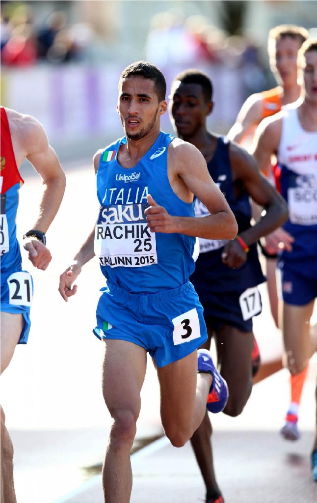 Yassine Rachik correrà domenica 3 ottobre la Trento Half Marathon