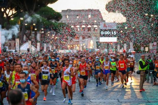 Iscrizioni aperte, Run Rome The Marathon si corre il 27 marzo 2022