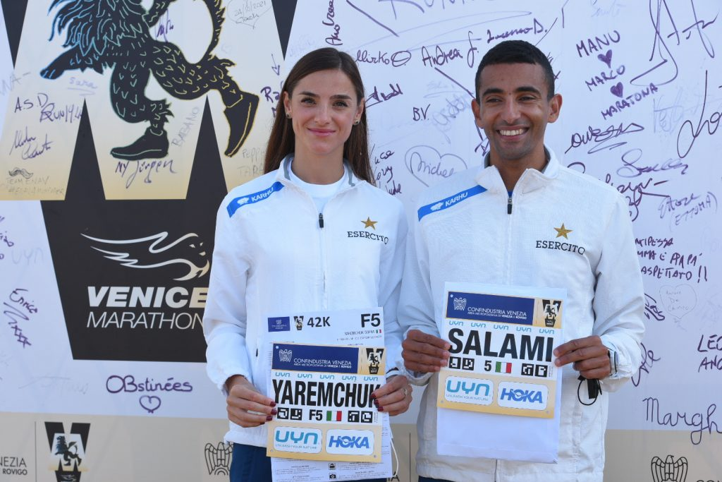 Oggi si corre la 35^Venicemarathon & 10K con gli azzurri Marco Najibe Salami e Sofiia Yaremchuk-LA DIRETTA STREAMING